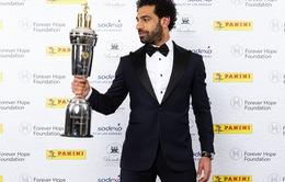 Vượt qua Bruyne, Kane, Mo Salah đạt danh hiệu Cầu thủ xuất sắc nhất Ngoại hạng Anh