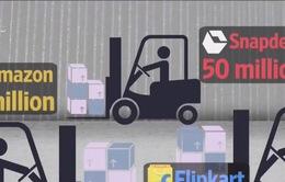 Wallmart chi 12 tỷ USD mua phần lớn cổ phần của Flipkart