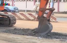 Đắk Lắk: Các công trình đào đường gây ô nhiễm môi trường