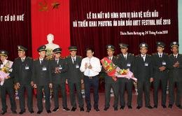 Thừa Thiên Huế thành lập mô hình đơn vị bảo vệ kiểu mẫu phục vụ Festival Huế