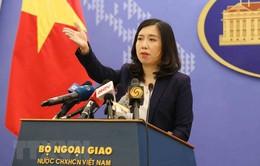Một số hoạt động gần đây của Trung Quốc tại khu vực quần đảo Hoàng Sa, Trường Sa đã xâm phạm nghiêm trọng chủ quyền Việt Nam
