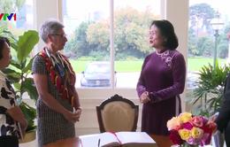 Phó Chủ tịch nước gặp Thống đốc và Thủ hiến bang Victoria, Australia