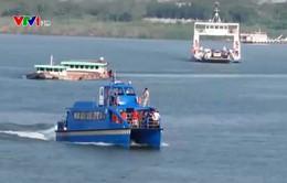 Campuchia khai trương tuyến bus trên sông