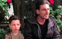 Nga đưa cậu bé Syria ra làm chứng vụ tấn công hóa học bị dàn dựng