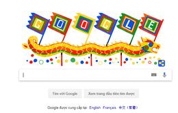 """Google """"thay áo mới"""" nhân ngày Giỗ tổ Hùng Vương"""