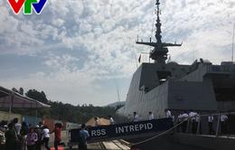 Tàu Hải quân Singapore thăm TP. Đà Nẵng
