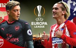 Bán kết Europa League, Arsenal – Atletico Madrid: Những con số thống kê trước trận