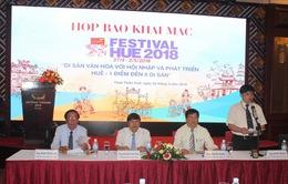 Họp báo Festival Huế 2018: Các lễ hội đậm nét truyền thống tiếp tục là điểm nhấn
