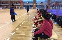 Ngày mai (27/4), ĐT Futsal nữ Việt Nam lên đường tham dự VCK Futsal nữ châu Á 2018
