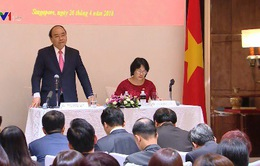 Thủ tướng gặp cộng đồng người Việt tại Singapore