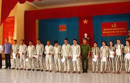 Khánh Hòa: Công bố quyết định giảm án cho 279 phạm nhân dịp lễ 30/4
