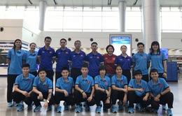 VCK Futsal nữ châu Á 2018: ĐT Futsal nữ Việt Nam đã có mặt tại Bangkok - Thái Lan