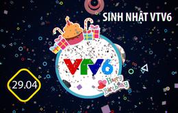 Đếm ngược đến Bữa trưa vui vẻ sự kiện tháng 4 với kỷ niệm sinh nhật VTV6 11 tuổi.