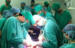 Sản phụ bị u gan nặng được phẫu thuật lấy thai kịp thời