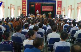 Phó Thủ tướng Vương Đình Huệ tiếp xúc cử tri huyện Can Lộc, Hà Tĩnh