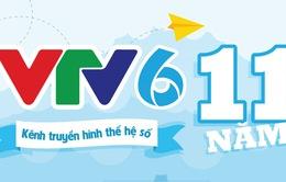 INFORGRAPHIC: VTV6 - 11 năm kết nối