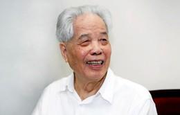 Nguyên Tổng Bí thư Đỗ Mười nhận Huy hiệu 80 năm tuổi Đảng