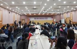 Ngày càng nhiều người Hàn Quốc học tiếng Việt