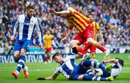 Được yêu mến hơn Messi, sao Espanyol thích thú tặng quà fan nhí