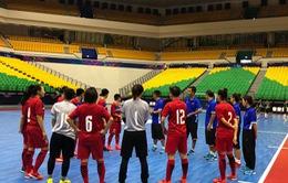 Trước thềm VCK Futsal nữ châu Á 2018: ĐT Futsal nữ Việt Nam thi đấu giao hữu với ĐT Futsal nữ Thái Lan