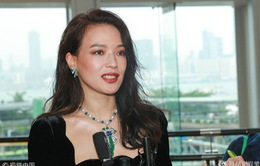 Thư Kỳ chúc mừng tình cũ Lê Minh lên chức bố