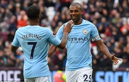 VIDEO HIGHLIGHTS: West Ham 1-4 Man City