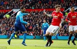 VIDEO Mkhitaryan ghi bàn hiểm hóc vào lưới đội bóng cũ Man Utd