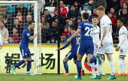 VIDEO: Tổng hợp diễn biến trận Swansea 0-1 Chelsea