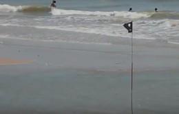 Cảnh báo các ao xoáy tử thần trên bãi biển Vũng Tàu