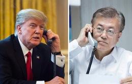 Tổng thống Mỹ - Hàn Quốc điện đàm