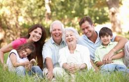 Bố mẹ sống càng lâu, tuổi thọ của con cái càng cao hơn