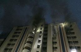 13 người Việt bị thương do vụ cháy chung cư ở Bangkok