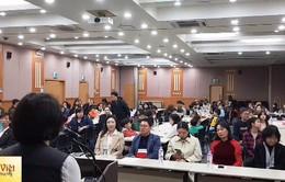 """Khai giảng """"Lớp Tiếng Việt yêu thương"""" tại Hàn Quốc"""