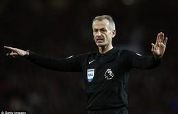 """Man Utd """"mừng húm"""" khi biết trọng tài bắt chính derby Manchester"""