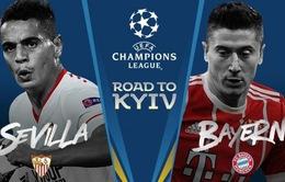 Tứ kết lượt đi Champions League, Sevilla – Bayern Munich: 1h45 ngày mai, 4/4