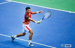 Davis Cup 2018: ĐT Việt Nam giành chiến thắng ngày ra quân