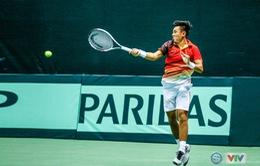 Tuyển quần vợt Việt Nam tranh suất thăng hạng Davis Cup với Qatar