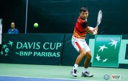 ĐT Việt Nam giành chiến thắng ngày ra quân Davis Cup 2018