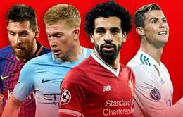 Lượt đi tứ kết Champions League: Chờ đợi những bất ngờ