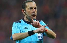 """""""Thần may mắn"""" của Real cầm còi trận bán kết lượt về với Bayern Munich"""