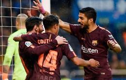 Kết quả bóng đá châu Âu rạng sáng 30/4: Barcelona chính thức đăng quang, Man Utd thắng kịch tính Arsenal