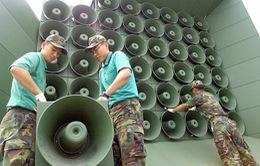 Hàn Quốc dỡ bỏ loa phóng thanh chống Triều Tiên ở biên giới
