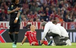 Arjen Robben sẽ không đến Bernabeu cùng Bayern Munich