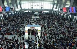 Giao thông Trung Quốc nhộn nhịp kỷ nghỉ lễ
