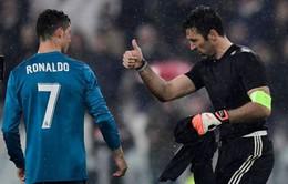 Tâm phục khẩu phục, Buffon so sánh Cris Ronaldo với Pele và Maradona