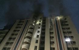 Vụ cháy chung cư tại Bangkok là do chập điện