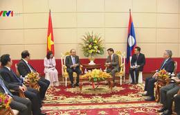 Thủ tướng Nguyễn Xuân Phúc hội kiến Thủ tướng Lào