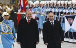 Tổng thống Nga đến Thổ Nhĩ Kỳ
