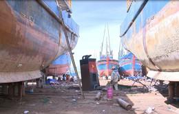 Vẫn chưa thống nhất đền bù tàu vỏ sắt bị hư hỏng tại Bình Định
