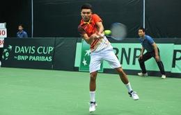 Vượt qua ĐT Campuchia, ĐT Việt Nam giành vé vào vòng 2 Davis Cup 2018